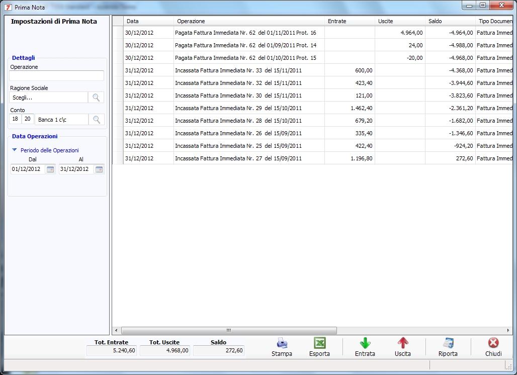 Programma prima nota programma contabilit aziendasoft 7 for Software di architettura gratuito online